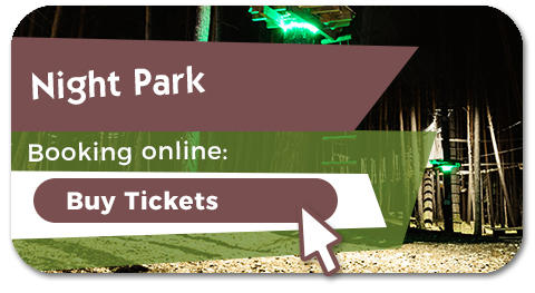 Buy your tickets for the night park of Biescas Aventura